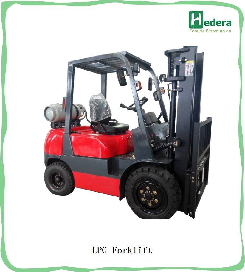 1500kg - 3500kg Diesel Forklift Gasoline LPG Forklift