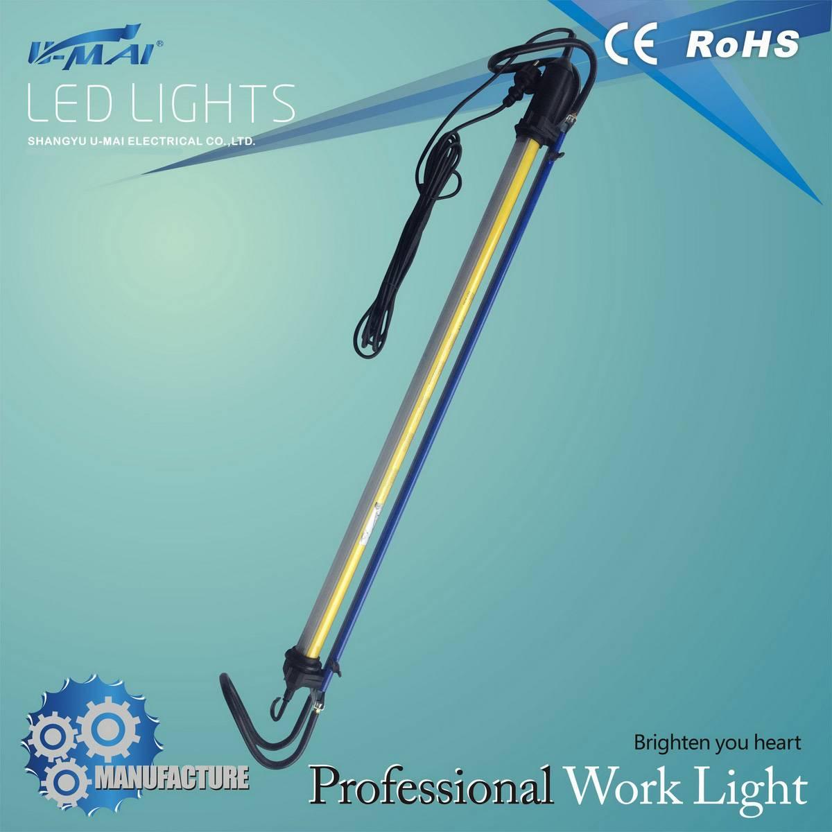 Popular security light suspension fluorescent work lamp