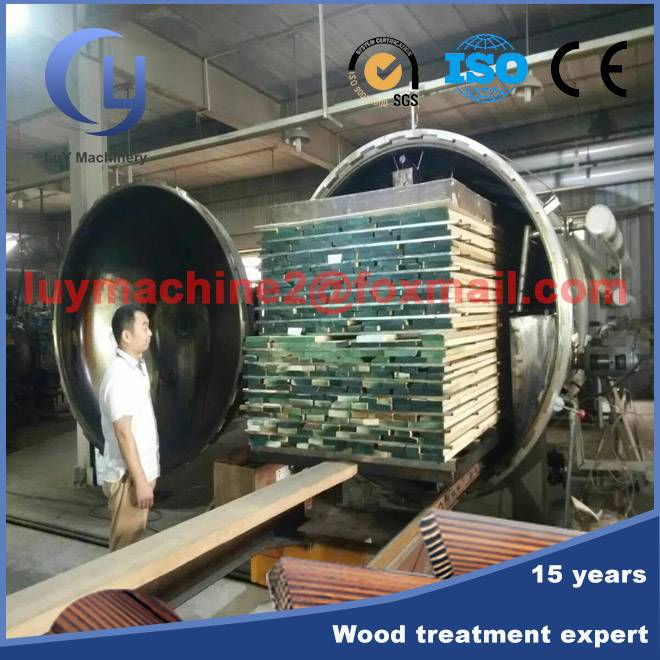 Thermo wood treatment plant