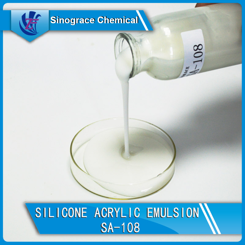Silicone Acrylic Emulsion For Top Coatings, Stone Coatings,High weatherability exterior wall coating