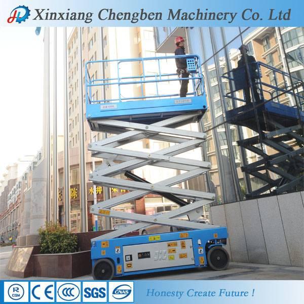 electric scissor lift platform