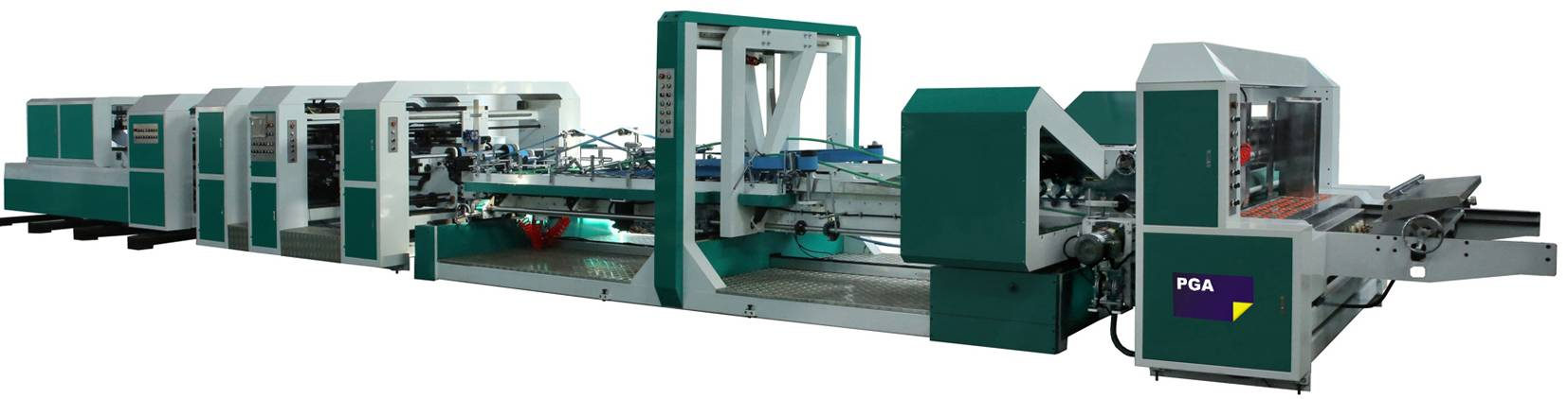 Automatic Folder Gluer Stitcher Machine (JW-2400B)