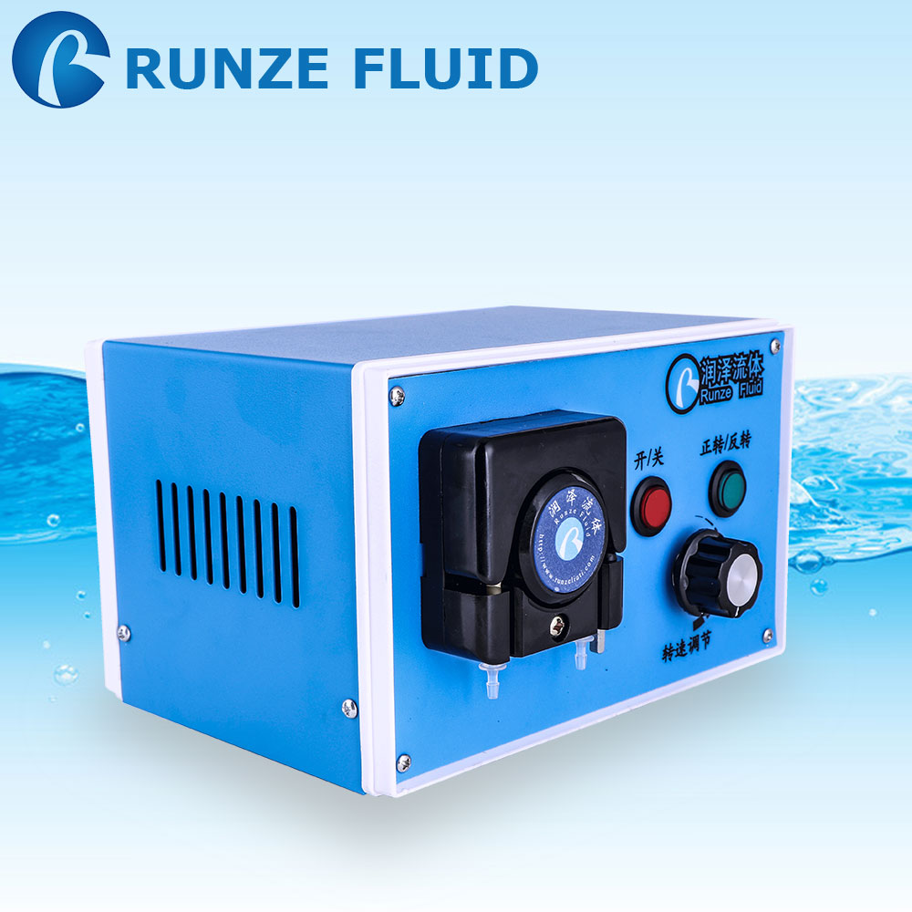 high precision peristaltic dosing pump 4 rollers 24v