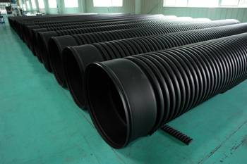 HDPE Double-wall Corrugation Pipe