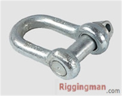 Rigging Hardware LARGE DEE BS3032 SHACKLE