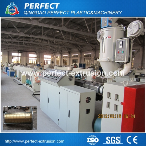 HDPE Pipe Production Extrusion Line, Plastic pipe making machine