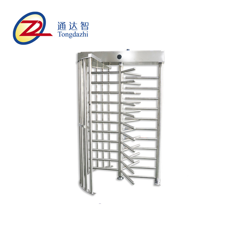 access control Rainproof RFID Reader card Security full height turnstile for factory price