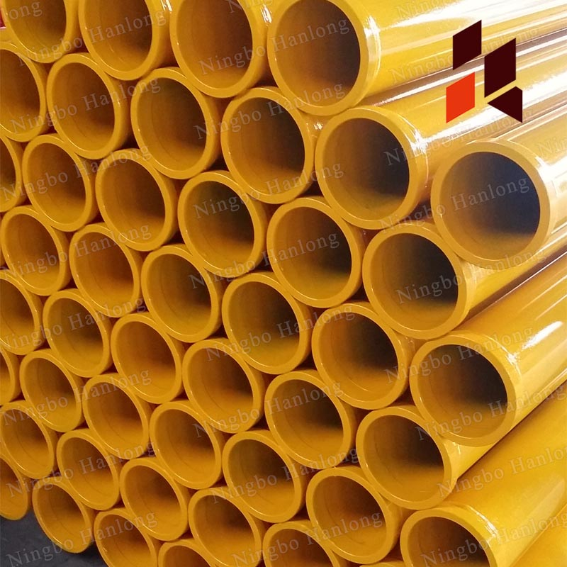 ST52 steel pipes