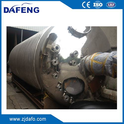 6000L steam heating steam heating reaction kettle