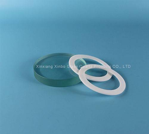 Tempered borosilicate sight glass
