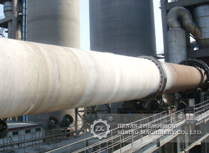 365m high quality horizonal lime rotary kiln