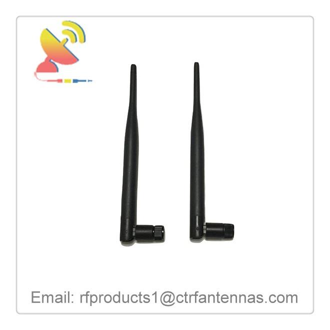 C&T RF Antennas Inc - Dipole antenna 2.4G 5dBi gain Omni antenna rubber duck antenna for WLAN