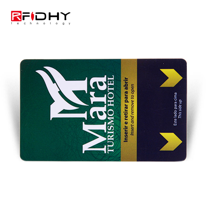 Writable and Readable HF RFID Hotel Key Card