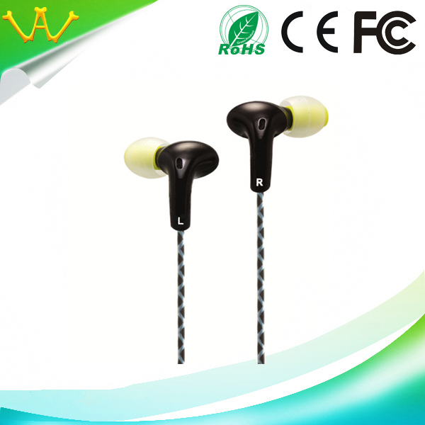 S22 lightweight wired earphone with mic
