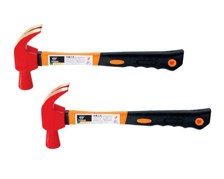 Non sparking magnetic spark resistant claw hammer/FM TUV GS UKAS APPROVED