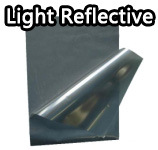 Light reflective film/tape
