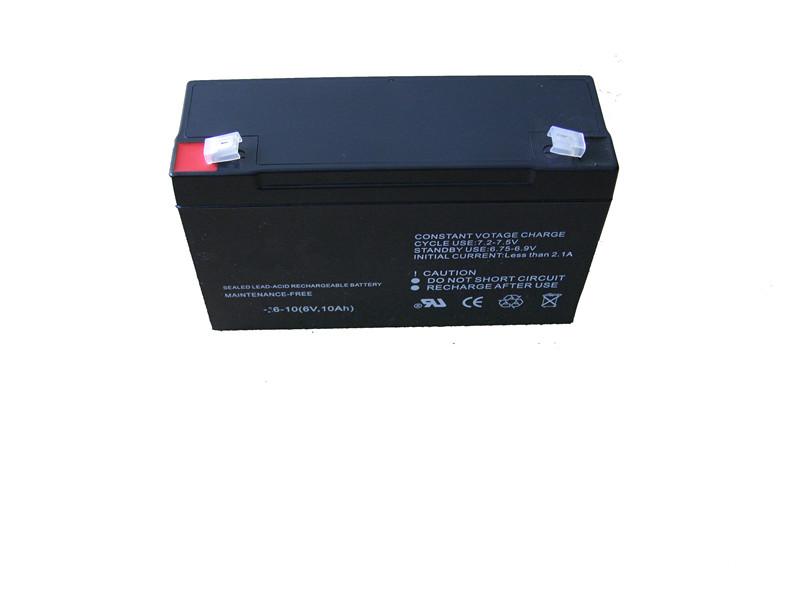 6v10ah sealed lead acid storage battery