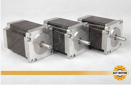 ACT 3PCS Nema23 Stepper Motor 23HS8430