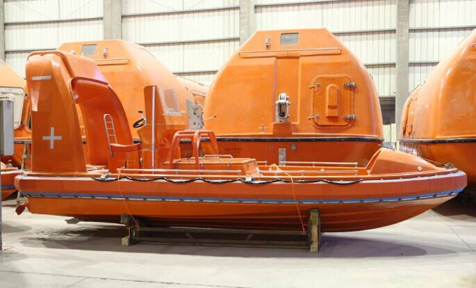 4.5M FRP fast Rescue boat/Open Life boat for sale