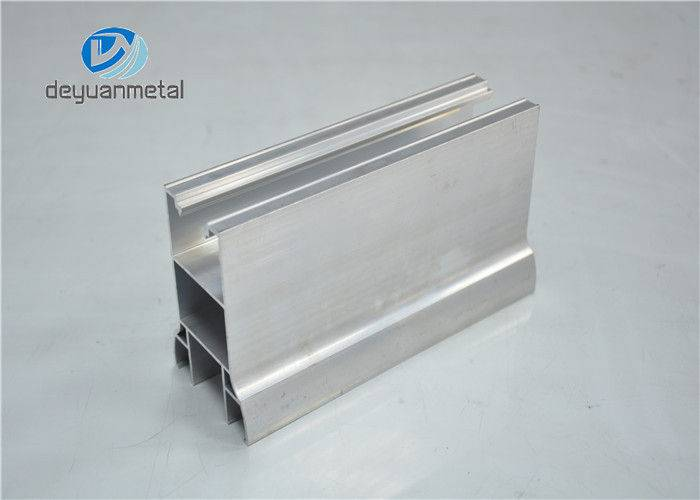 Mill Finish Alu Aluminum Structural Shapes / Aluminum Extrusion Profiles