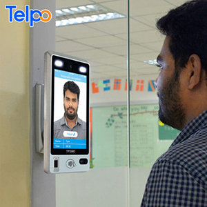 Biometric identification face fingerprint time attendance and access control terminal