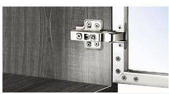 Soft closing door hinges