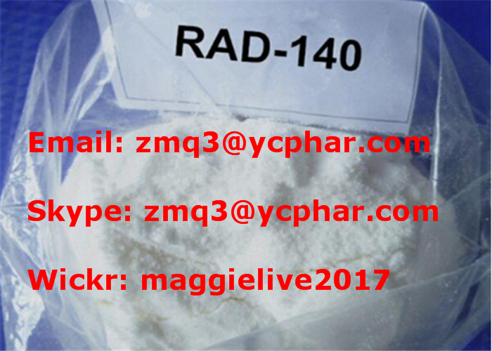 RAD 140 SARM Peptides Weight Loss Steroids For Women CAS 118237-47-0