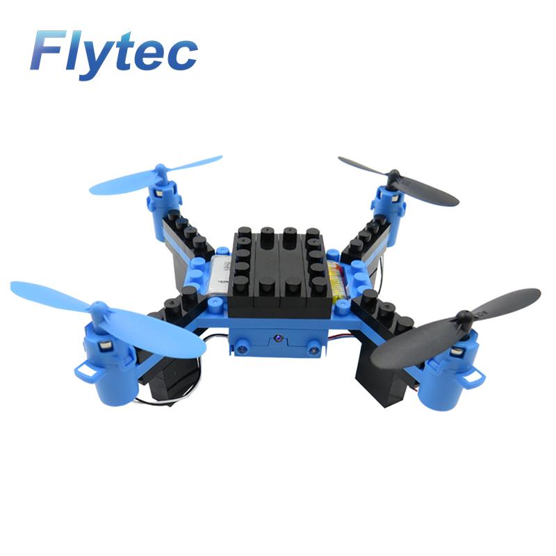 Flytec T11S RC Drone 3D flip Wifi FPV 0.3MP Camera DIY Building Block RC Quadcopter