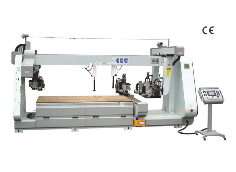 Double-end cutting saw