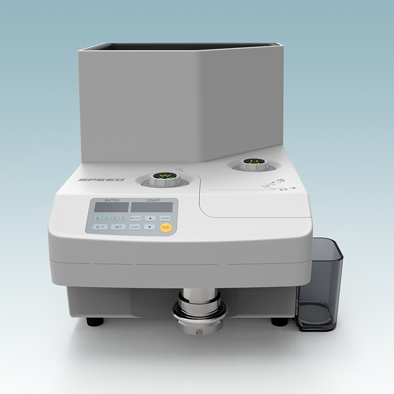 PD925 High Speed Coin Counter With Highest Speed at 3000pcs/min and Largest Capacity 4000 pcs