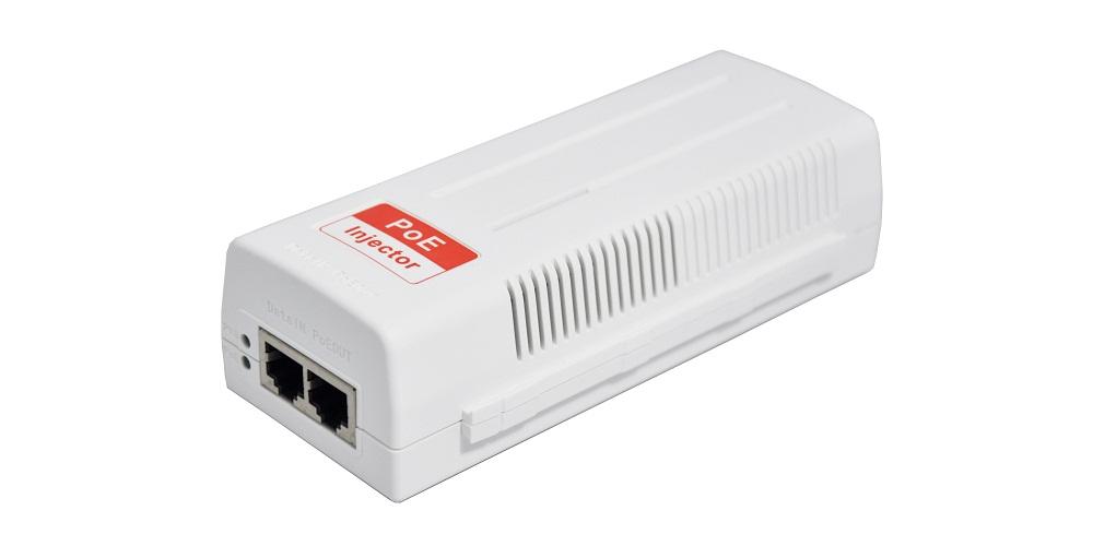UL certification 30W POE injector (IEEE802.3at standard)