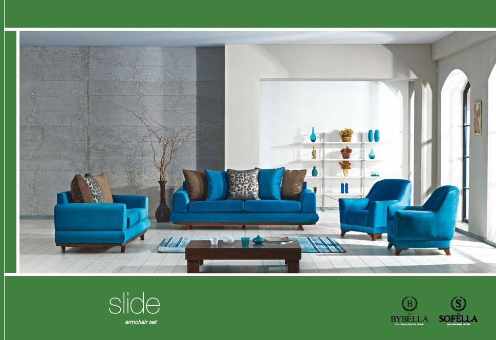 Slide Sofa Set