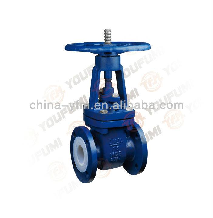 Lined Gate Valve