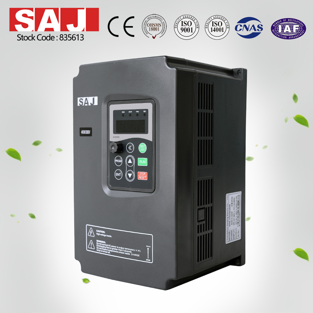 SAJ 8000B Series 3 Phase Power Variable Frequency Drives for Home Use