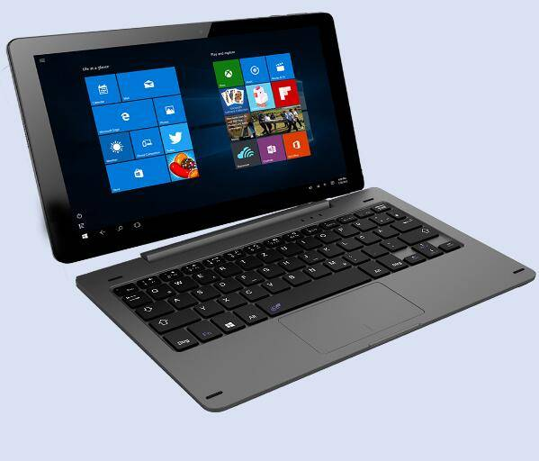 10.1'' windows Tablet PC with keyboard