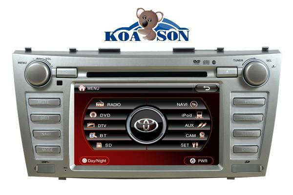Two -Din Toyota Camry/Aurion Car DVD Player with 7-Inch Touch Screen/DTV(optional)/Radio(RDS)/DVD/GP