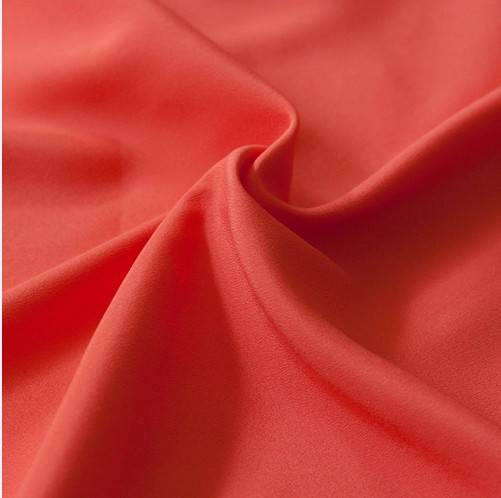 100D polyester artificial crepe