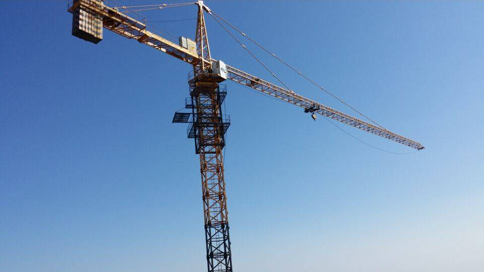 high quality 6t tower crane low price manufacturer