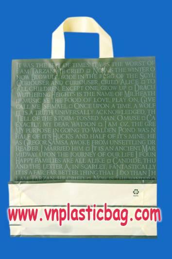 wave top handle bag