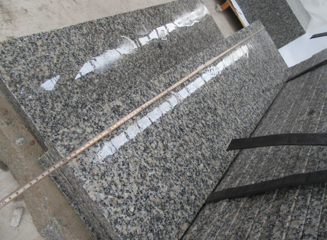 Grey Granite G602 Stairs