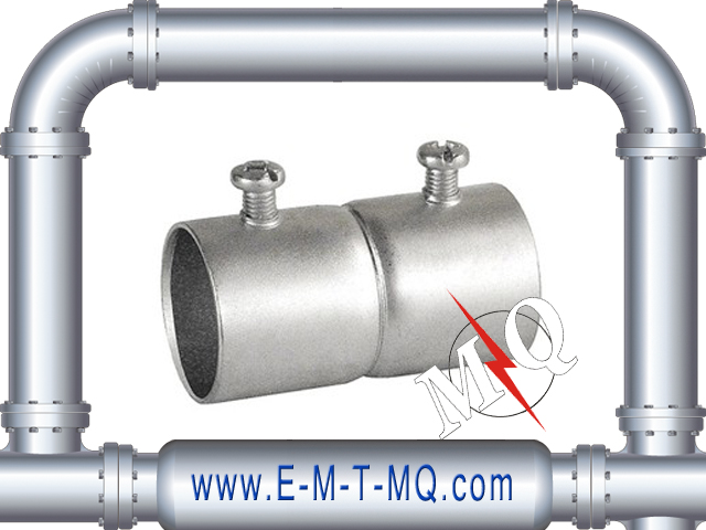 Set Screw Type Steel EMT Coupling for conduit connector