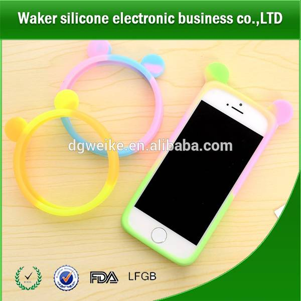 Rabbit shape phone protective case