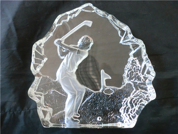 Crystal Iceberg Crystal Golf Medals Crystal Golf Trophy