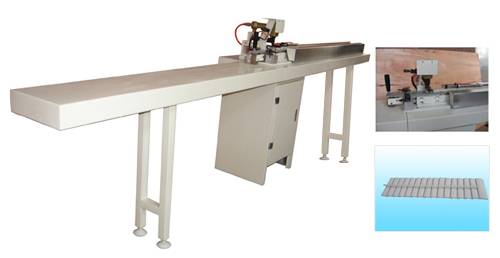 wooden louver shutter machine/pvc shutters machinery /stapling machine for wooden shutters tilt rod