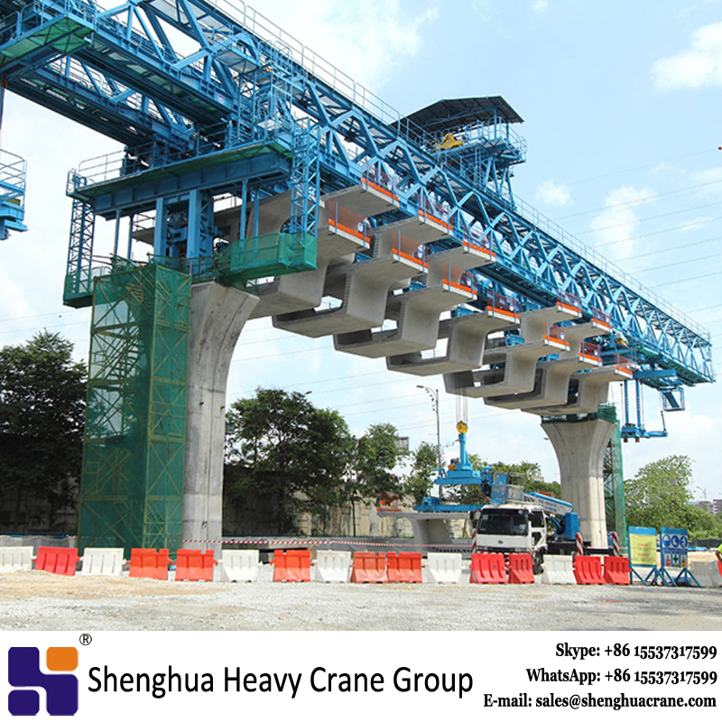 high quality 600T interchange bridge launching gantry crane