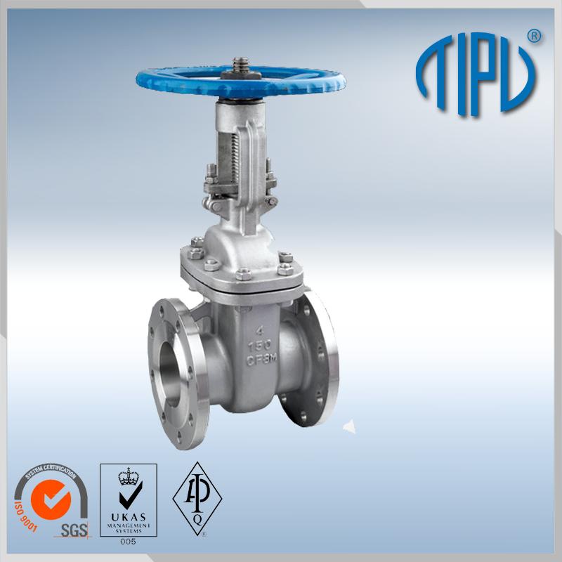 DIN 1.0619 flange gate valve