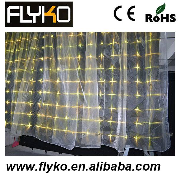 FLYKO p18 2*3m LED VISION CURTAIN/ LED VIDEO CURTAIN (RGB 3in1 fullcolor led)