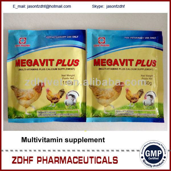 Poultry gain weight vitamins premix for broilers growth promoter