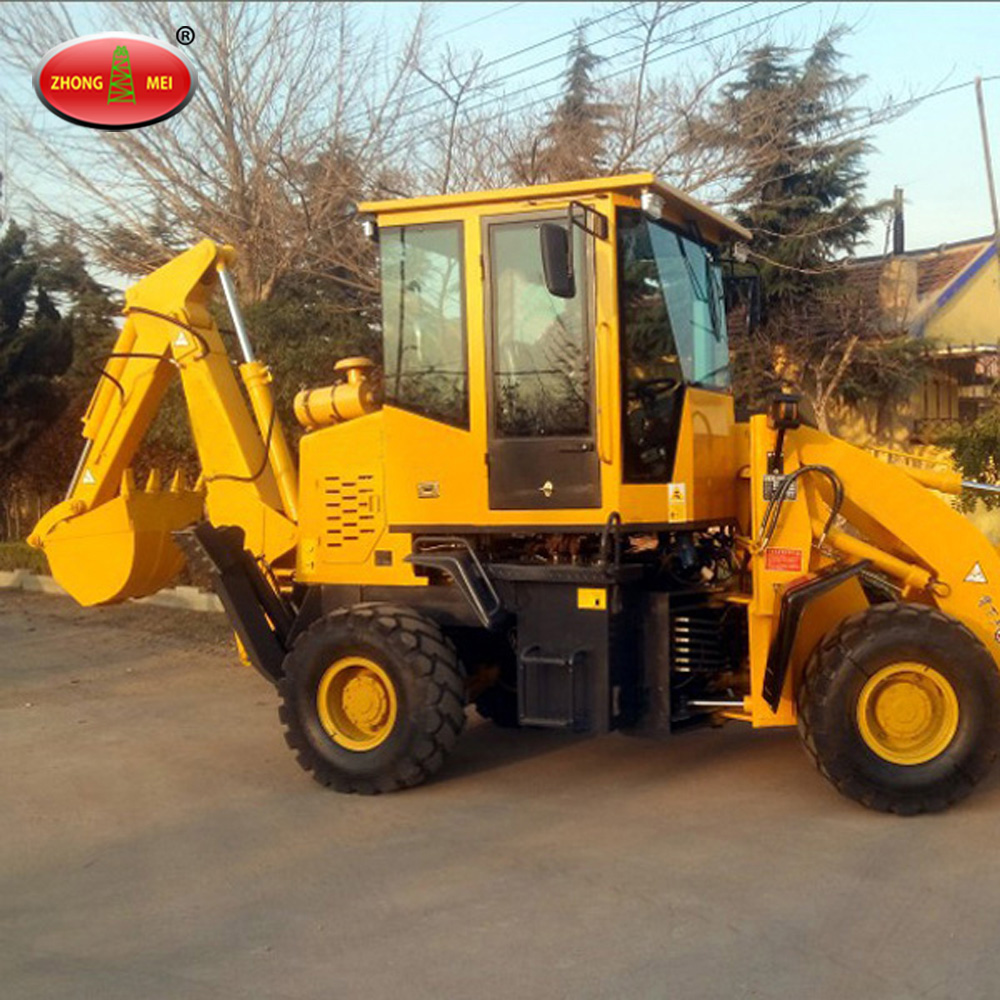 China Manufacturer Cheap WZ30-18 New Small Mini Tractor Backhoe