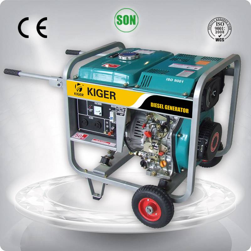 5kw KG5000DE soundproof diesel generating set